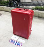 リサイクルショップの当店ではRIMOWA/リモワ サルサ レッド スーツケース等の買取を行っております。