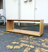 リサイクルショップの当店では無印良品 オーク材テーブルベンチ等の回収を行っております。
