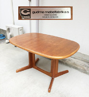 リサイクルショップのココカラココロではgudme エクステンションダイニングテーブル等の回収を行っております。